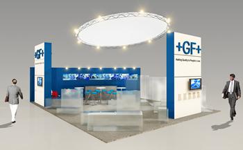 3D - Stand Georges Fischer - Pollutec 2008
